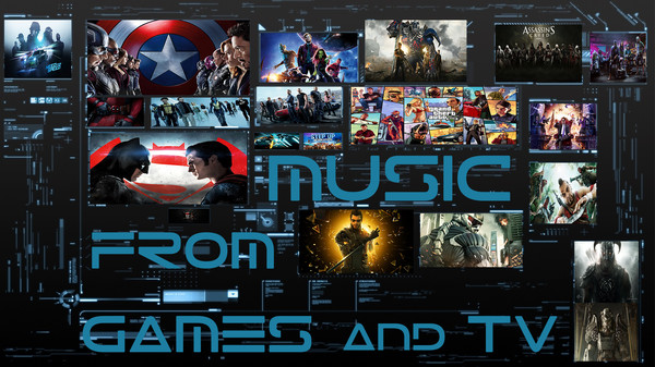 Music from games and TV