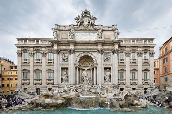 Бетон для укрепления римских зданий.
